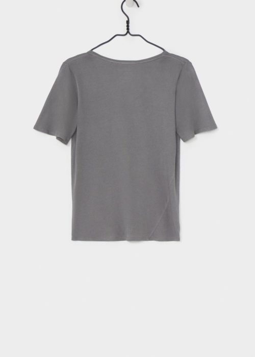 BB V Tee Dove Grey Kowtow Shirt Eco-friendly Fair Trade Organic