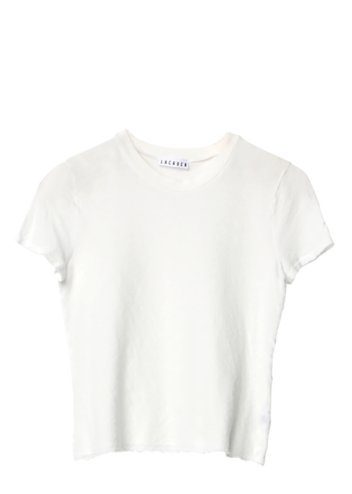 Baby Tee Whitewash La Causa Shirt Locally-made