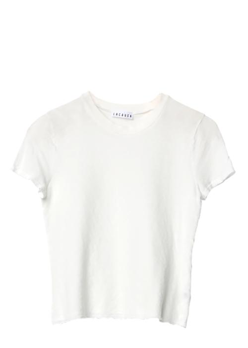 Baby Tee Whitewash La Causa Shirt Locally-made