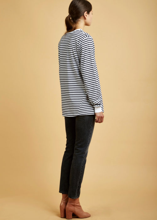 Building Block Boyfriend Top Kowtow Shirt Eco-friendly Fair Trade Organic