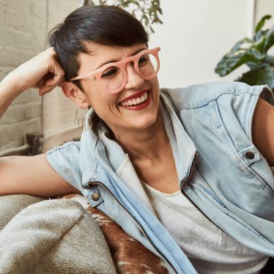 Carla Colour sustainable sunglasses carla robertson designer