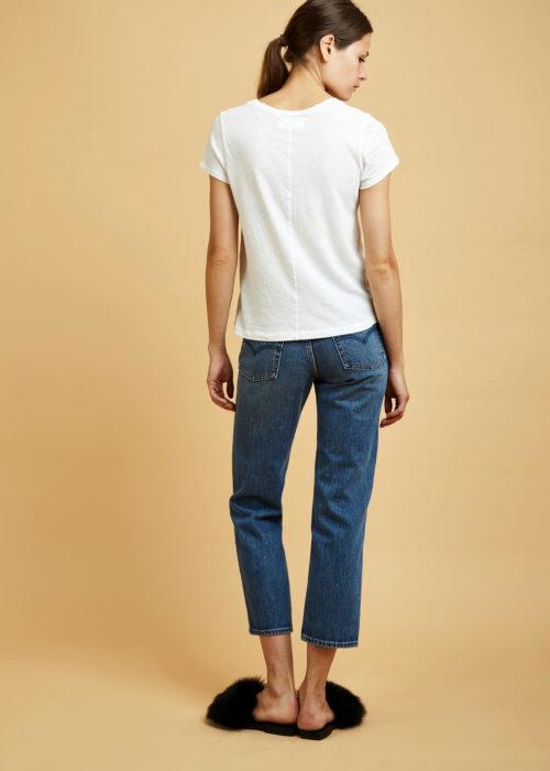 Frank Top Whitewash La Causa Shirt Locally-made
