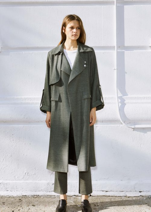 Harold Trench Coat Margaux Lonnberg Coat Locally-made