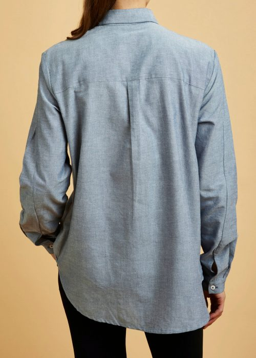 Loft Shirt Chambray Shirt Eco-friendly Fair Trade Organic Recycled