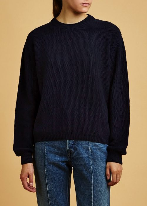 Certifed fair trade organic cotton sweater Kowtow