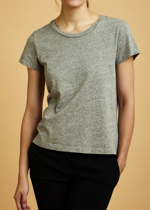 Heather Grey La Causa Frank t-shirt locally-made