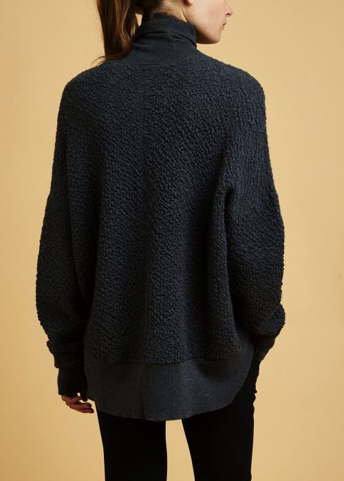 Chunky knit Behno ethical wool