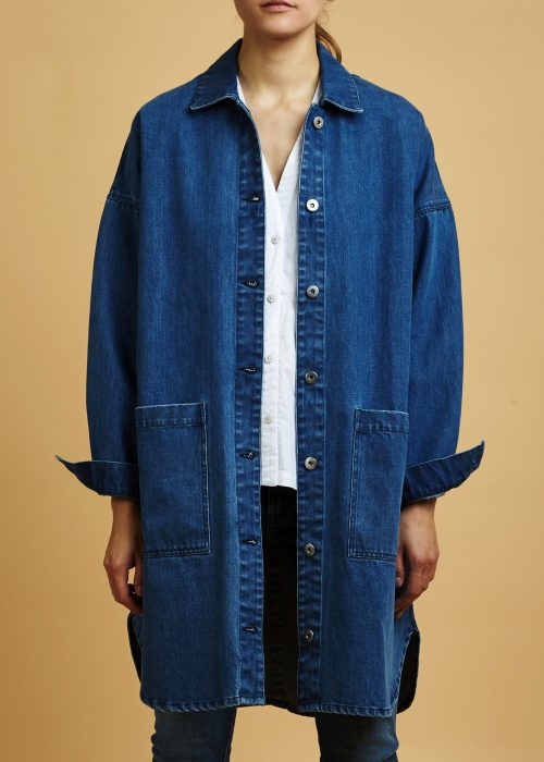 Denim Jacket Kowtow organic certified fair trade