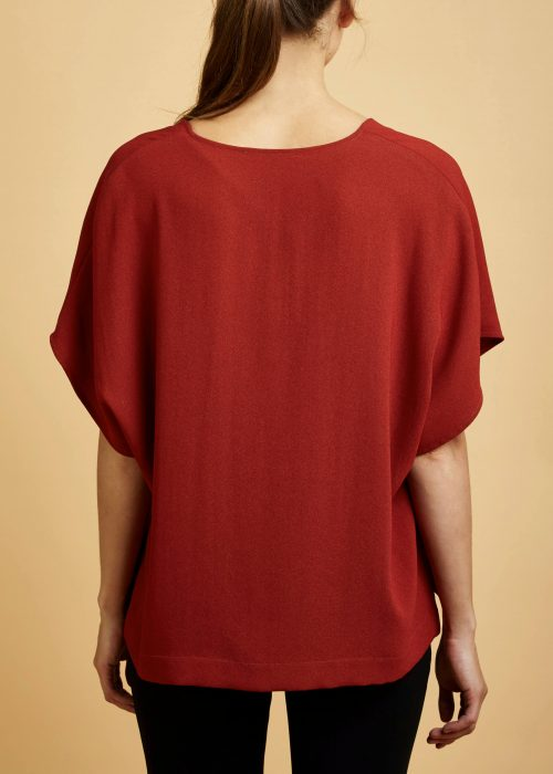 The Maya Top Cinnamon Cienne Shirt Locally-made