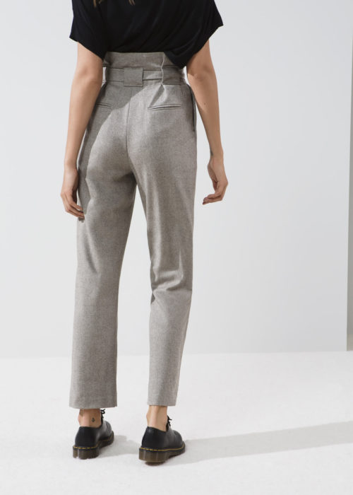 Oswald Beige Margaux Lonnberg Pants Locally-made