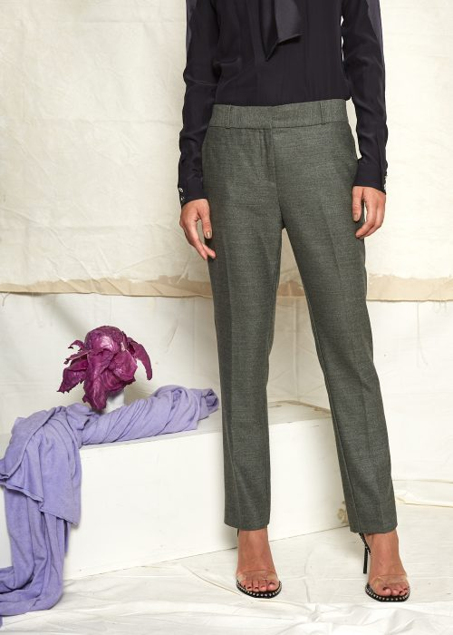 Margaux Lonnberg grey wool pants