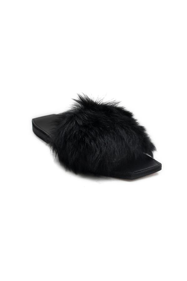 65d6c27d324a4 PARME MARIN Faux Furry Baby Sandals - FAUBOURG