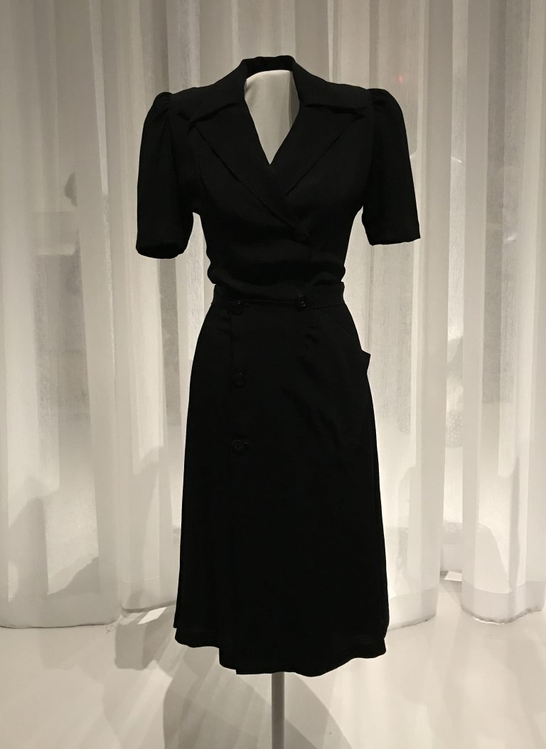 Diane Von Furstenberg Wrap Dress LBD