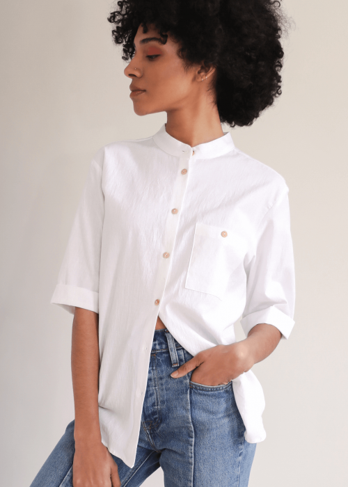 White Cotton Shirt