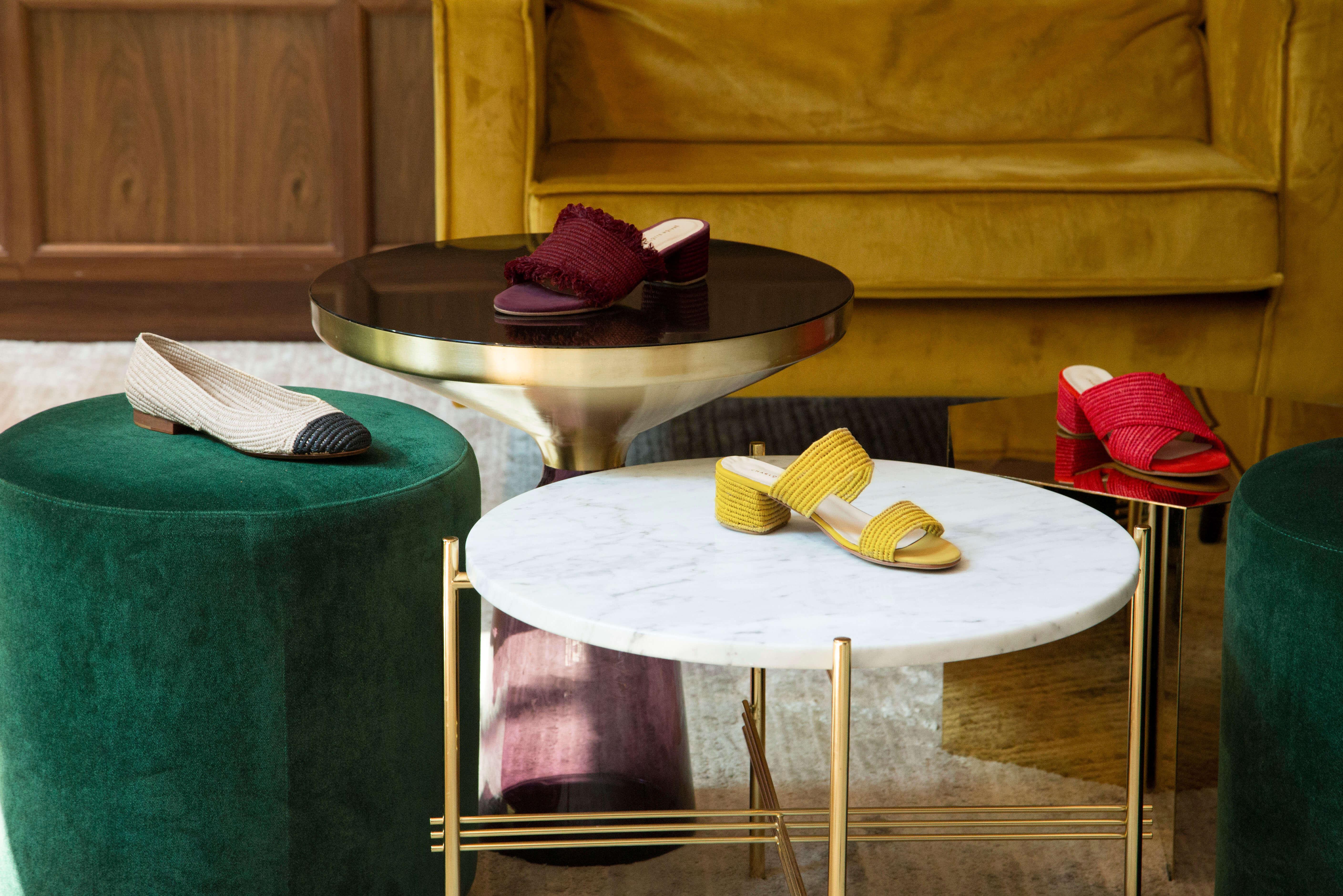 Handmade Footwear in Raffia