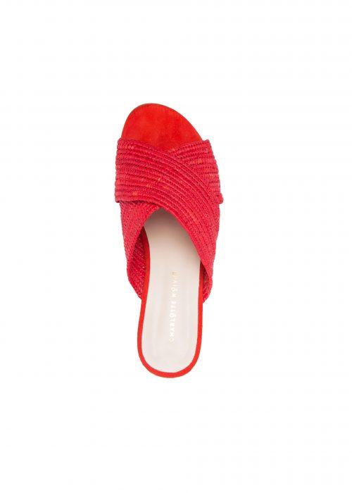 Charlotte woivre raffia footwear