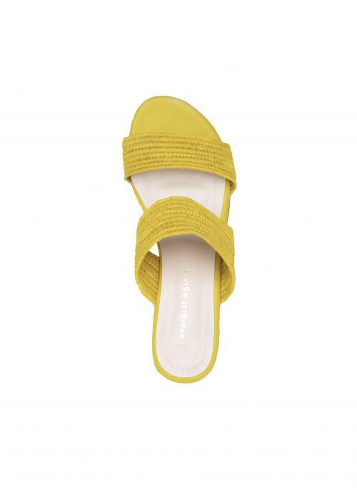 raffia sandals handmade