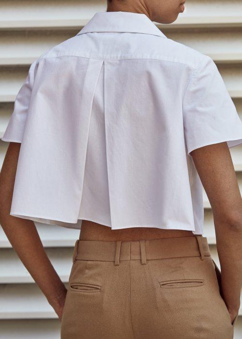Organic cotton white shirts