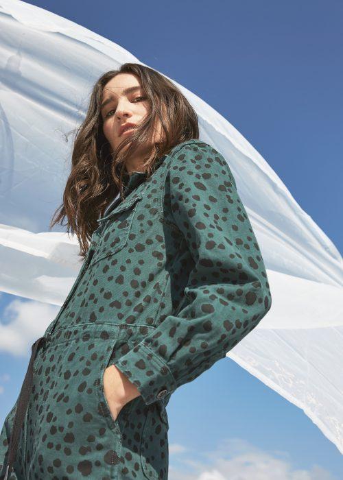 leopard print jumpsuit